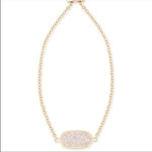 Kendra Scott Elaine Rose Gold Drusy Bracelet